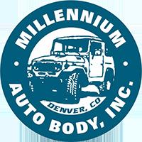 Millennium Auto Body Logo